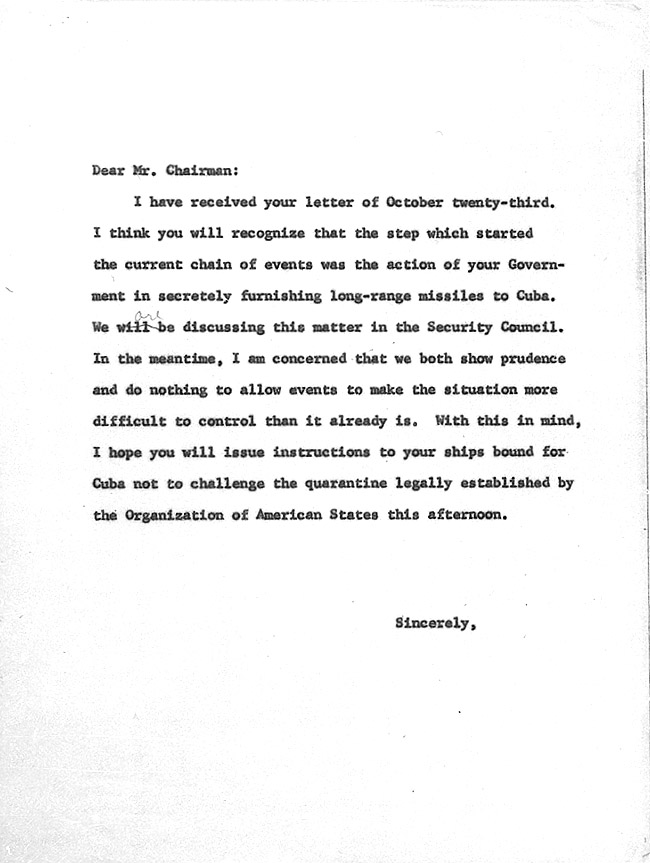 Cuban missile crisis john f kennedy presidential library museum spiritdancerdesigns Gallery