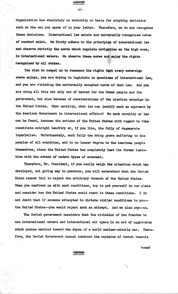 Cuban missile crisis john f kennedy presidential library museum expocarfo Images