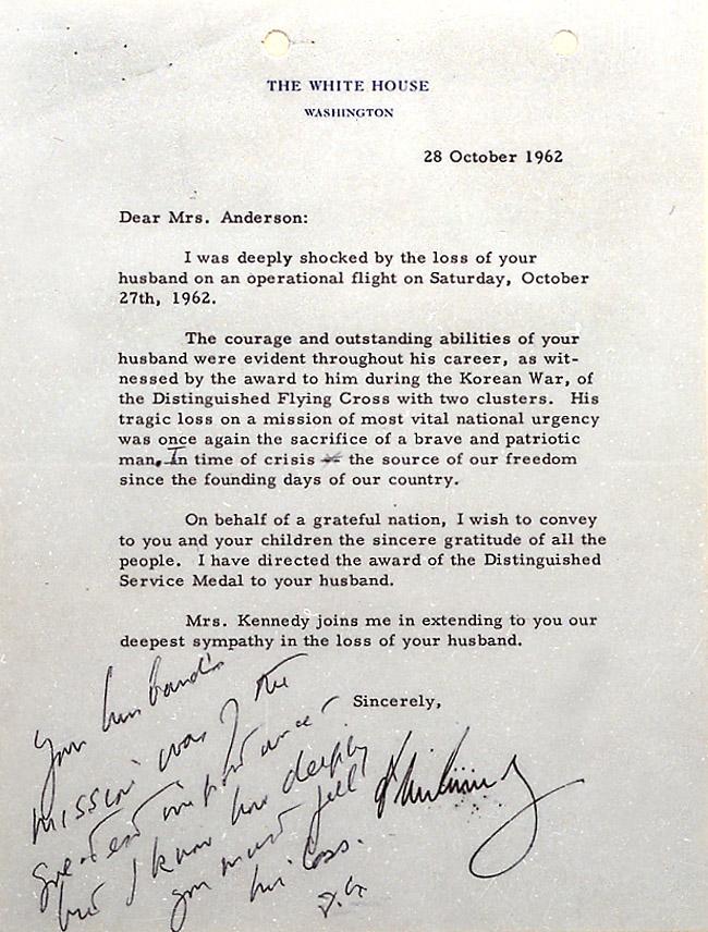 October 27, 1962   Cuban Missile Crisis   John F. Kennedy